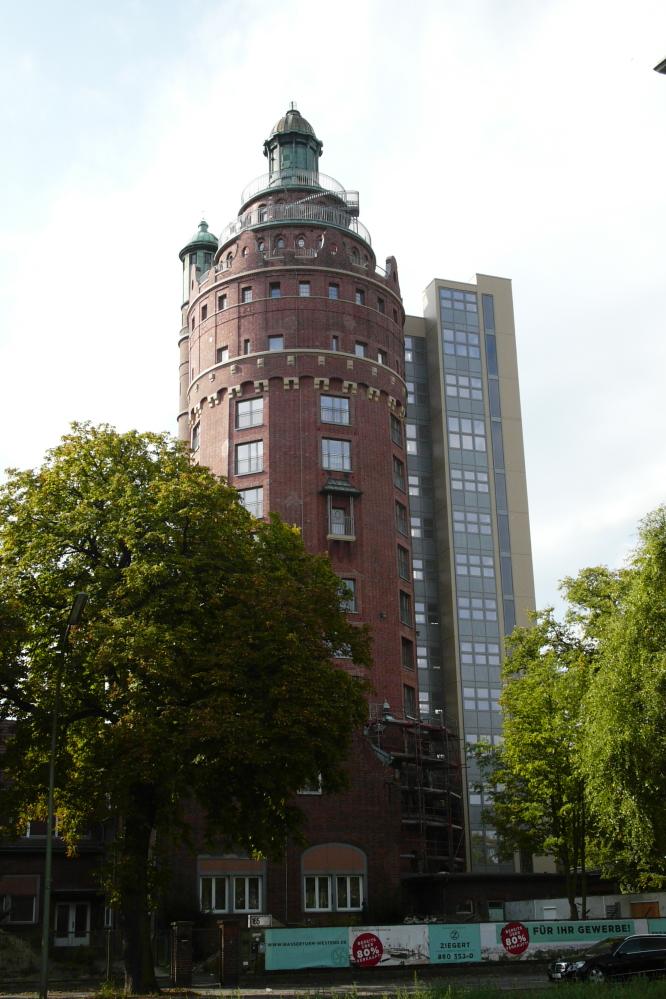 Wasserturm Berlin-Westend Wohnen