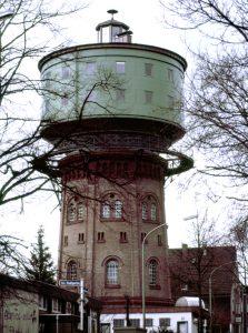 Wasserturm Essen Steel